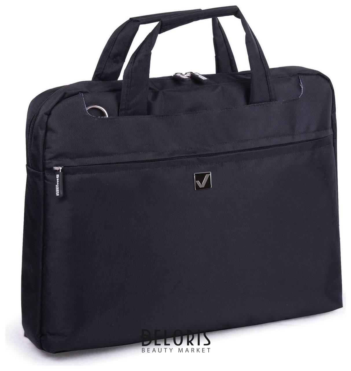 Сумка деловая Brauberg Chance, 30х40х4 см, отделение для планшета и ноутбука 15,6, ткань, черная Brauberg