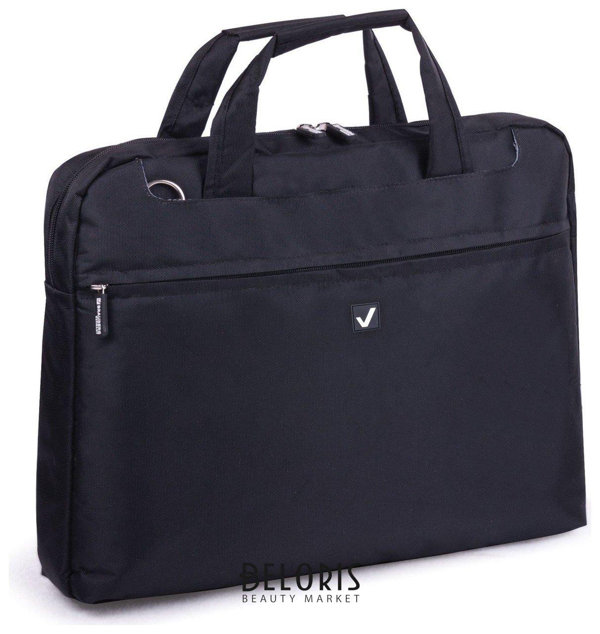 Сумка деловая Brauberg Chance, 25х35х4 см, отделение для планшета и ноутбука 13,3, ткань,черная Brauberg