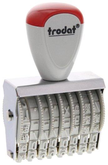 Нумератор ручной ленточный, 8 разрядов, оттиск 38х5 мм, Trodat 1558  Trodat