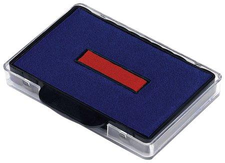 Подушка сменная (68х47 мм) для Trodat 5480, 5485, сине-красная  Trodat