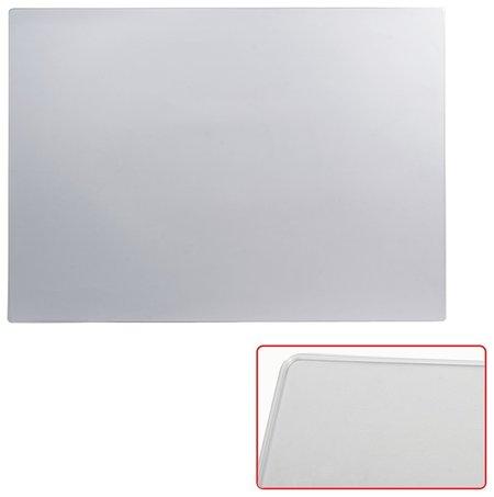 Коврик-подкладка настольный для письма (655х475 мм), прозрачный, матовый, ДПС  Dps Kanc