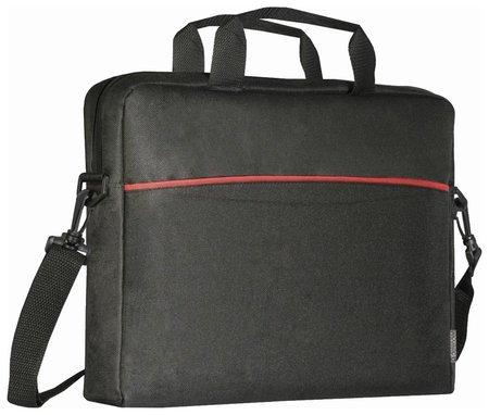 "Сумка для ноутбука Defender Lite 15,6"", нейлон, черная с карманом  Defender"