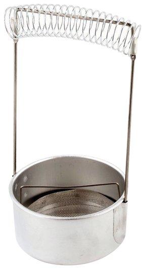 Кистемойка алюминиевая, диаметр 10,5 см, высота 18 см  Невская палитра