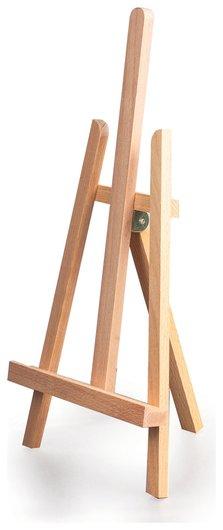 """Мольберт настольный Brauberg Art """"Classic"""", бук, 16х42х19 см, высота холста 30 см  Brauberg"""