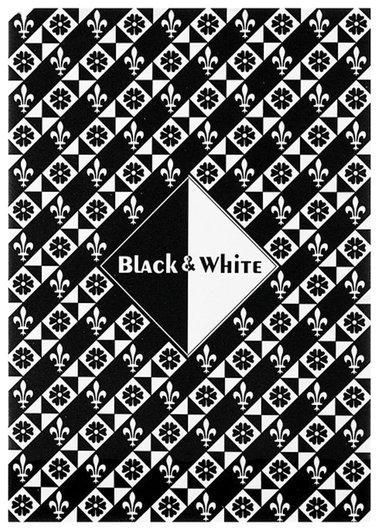 """Папка для эскизов / планшет А4 210х297 мм, 30 листов, 2 цвета, 160 г/м2, твердая подложка, """"Черный и белый""""   Palazzo"""