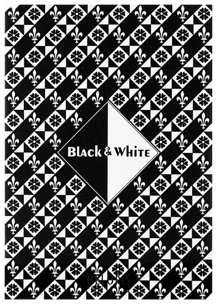 Папка для эскизов / планшет А4 210х297 мм, 30 листов, 2 цвета, 160 г/м2, твердая подложка, Черный и белый  Palazzo