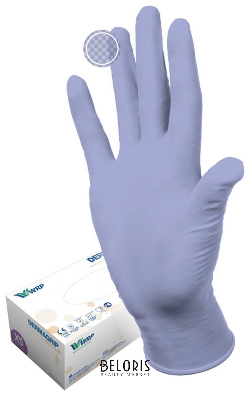 Перчатки, комплект 100 пар (200 шт.), L, Dermagrip Ultra Dermagrip