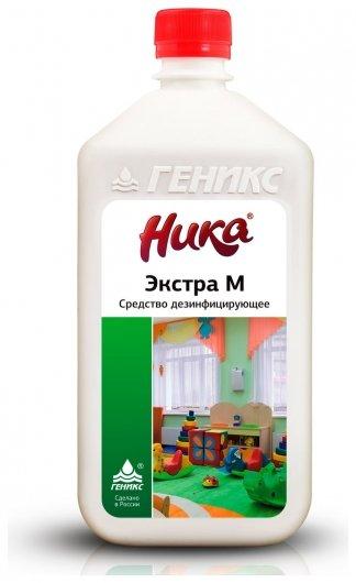 """Средство дезинфицирующее """"Экстра М""""  Ника"""