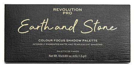 Тени для век Earth And Stone Shadow Palette  Revolution PRO