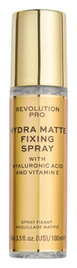 Спрей для фиксации макияжа Hydra-Matte Fixing Spray  Revolution PRO