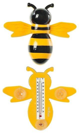 """Термометр уличный """"Пчелка"""" с присосками для крепления  КНР"""