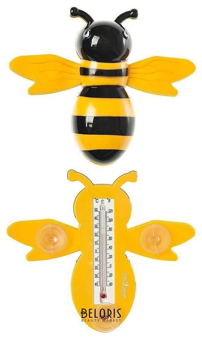 Термометр уличный Пчелка с присосками для крепления КНР
