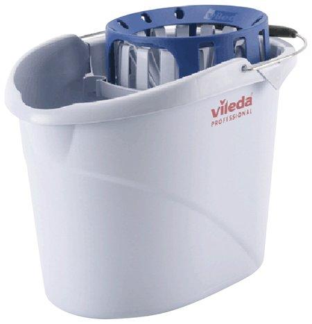 """Ведро Vileda """"Супер-моп"""", с системой отжима для веревочных и ленточных мопов, овальное, объем 10 л  Vileda"""
