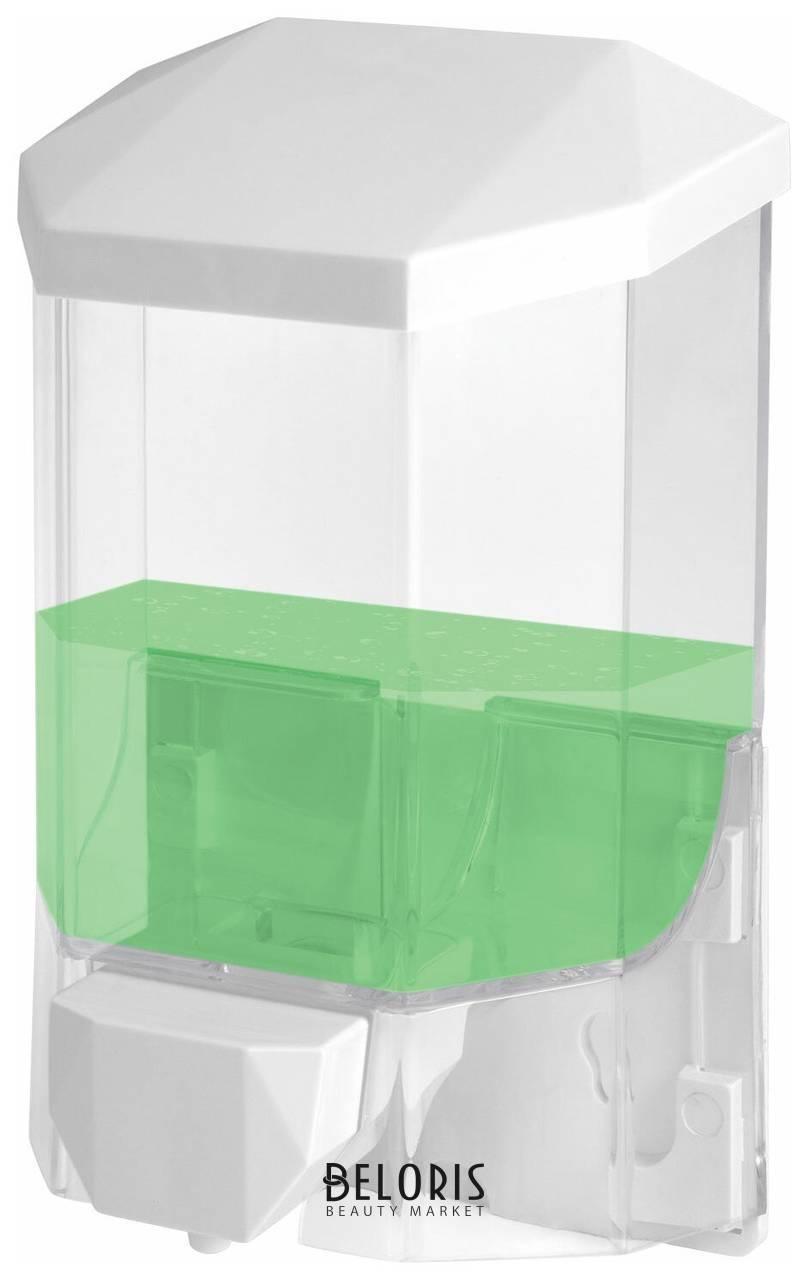 Диспенсер для жидкого мыла Laima Professional Original, наливной, 0,5 л, прозрачный, пластик Лайма