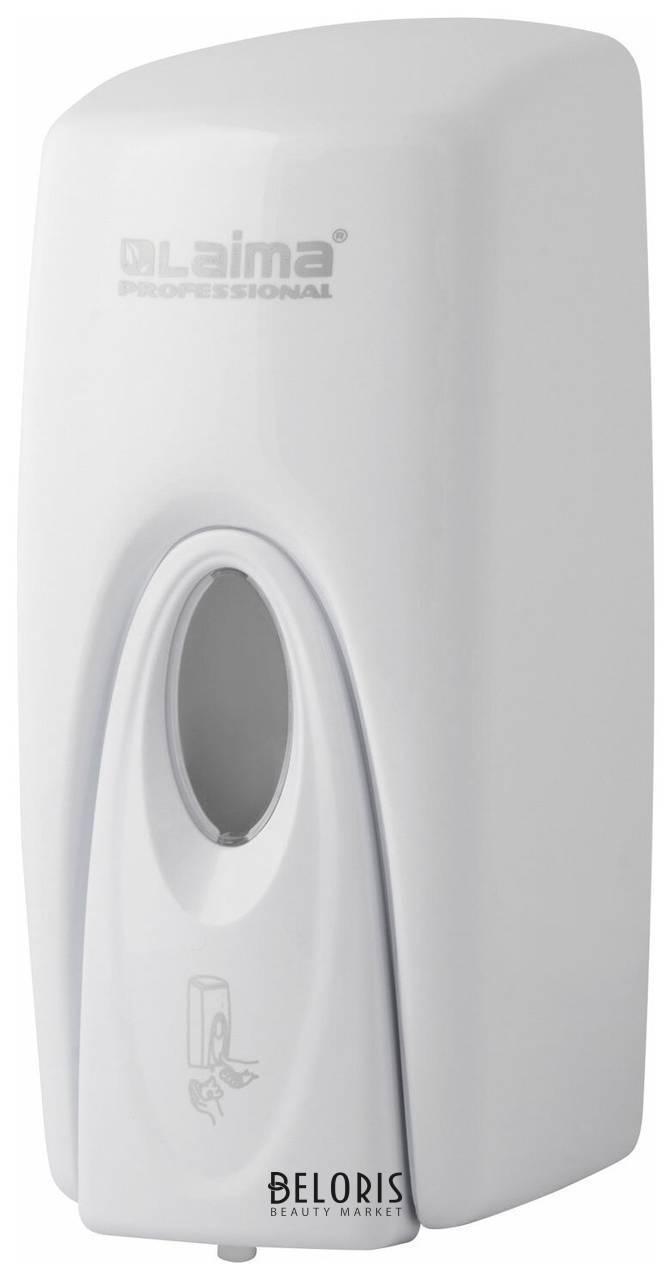 Диспенсер для мыла-пены Laima Professional Original, наливной,1 л, белый, ABS-пластик Лайма