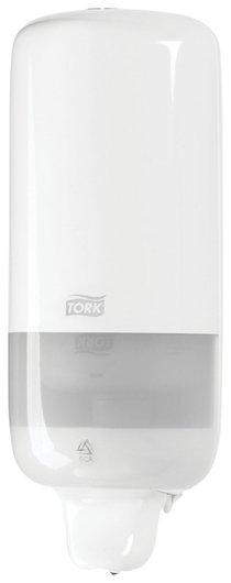 Диспенсер для жидкого мыла Tork (Система S1) Elevation, 1 л, белый  Tork