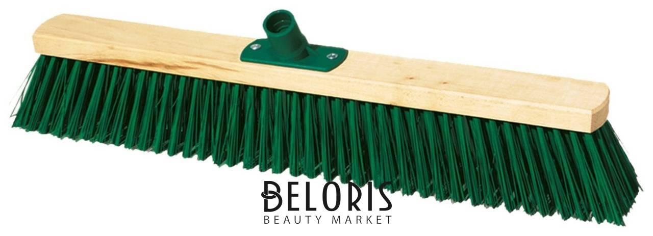 Щетка для уборки техническая, ширина 60 см, щетина 7,5 см, деревянная, еврорезьба, York York
