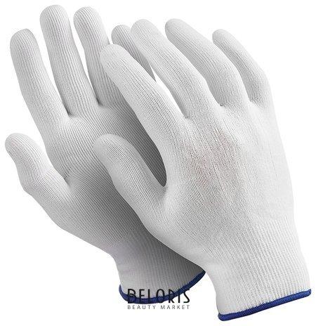 "Перчатки Manipula ""Микрон"", комплект 10 пар, размер 8 (M), белые"