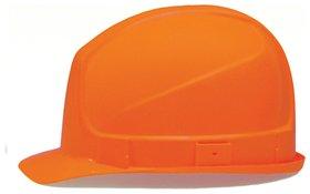 Каска защитная UVEX Супер босс, ленточный механизм регулировки, пластиковое оголовье, оранжевая