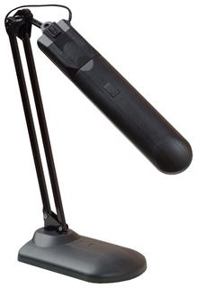 """Светильник настольный """"Дельта У"""", на подставке, люминесцентный, 11 Вт, черный, высота 35 см, 2G7  Трансвит"""