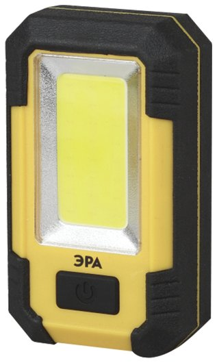 Фонарь светодиодный ЭРА RA-801, COB-LED, рабочий, магнит, крючок, аккумуляторный (USB-кабель в комплекте)   Эра