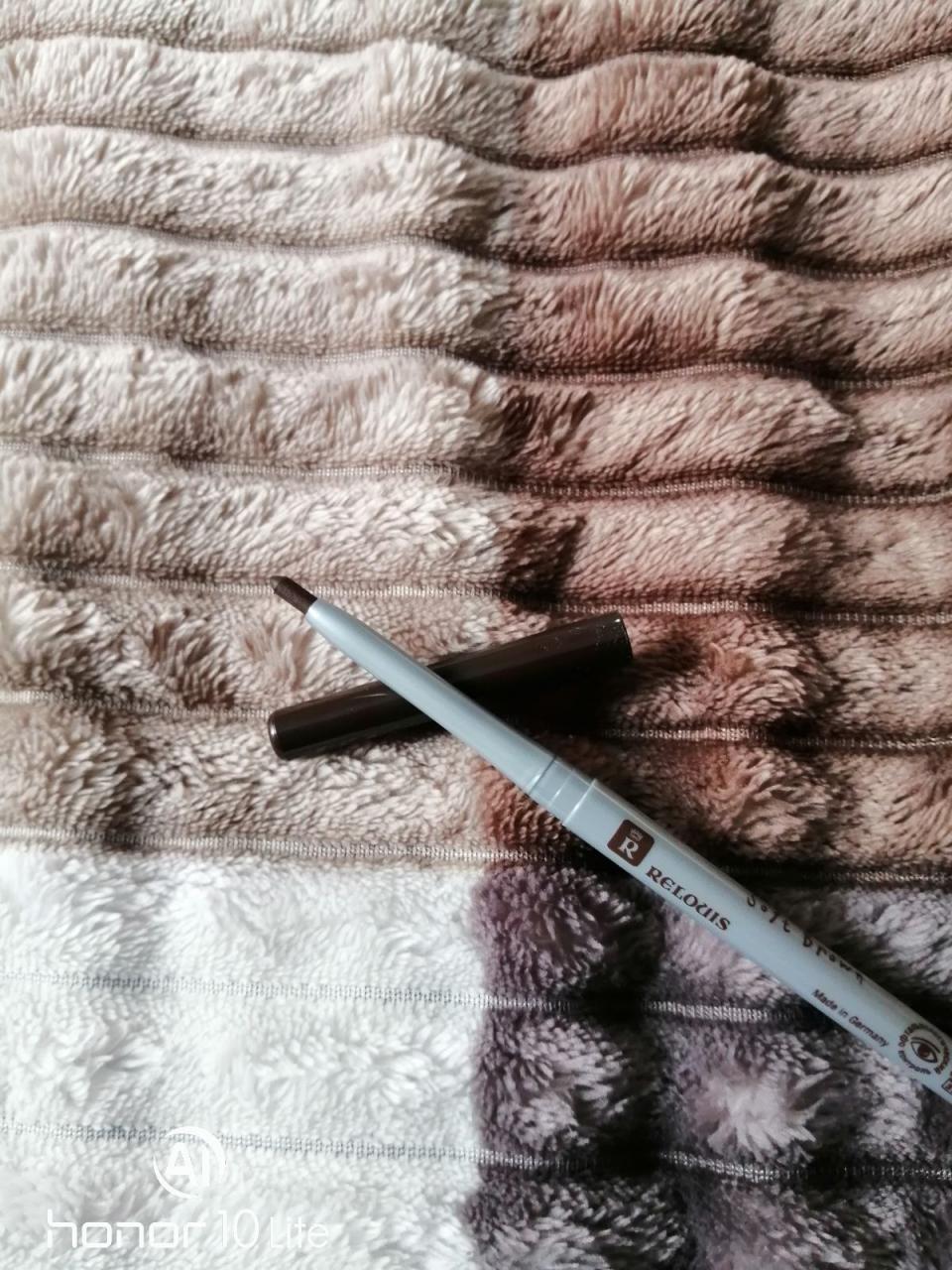 Отзыв на товар: Карандаш для бровей механический пудровый. Relouis.