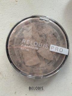 Отзыв на товар: Тени для век Eyeshadow satin. Relouis.