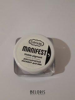 """Отзыв на товар: Рассыпчатый пигмент """"Manifest"""". Estrade."""