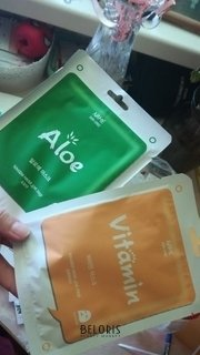 Отзыв на товар: Тканевая маска для лица Алоэ. Mijin Cosmetics.