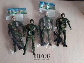 Отзыв на товар: Солдат с оружием зеленая форма. КНР Игрушки.