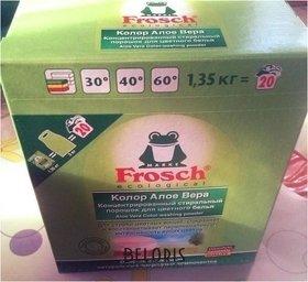 Отзыв на товар: Стиральный порошок для цветного белья Color. Frosch.