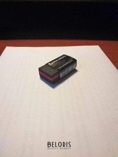 """Отзыв на товар: Ластик Brauberg """"Black Jack"""", 40х20х11 мм, черный, прямоугольный, термоплатичная резина, картонный держатель. Brauberg."""