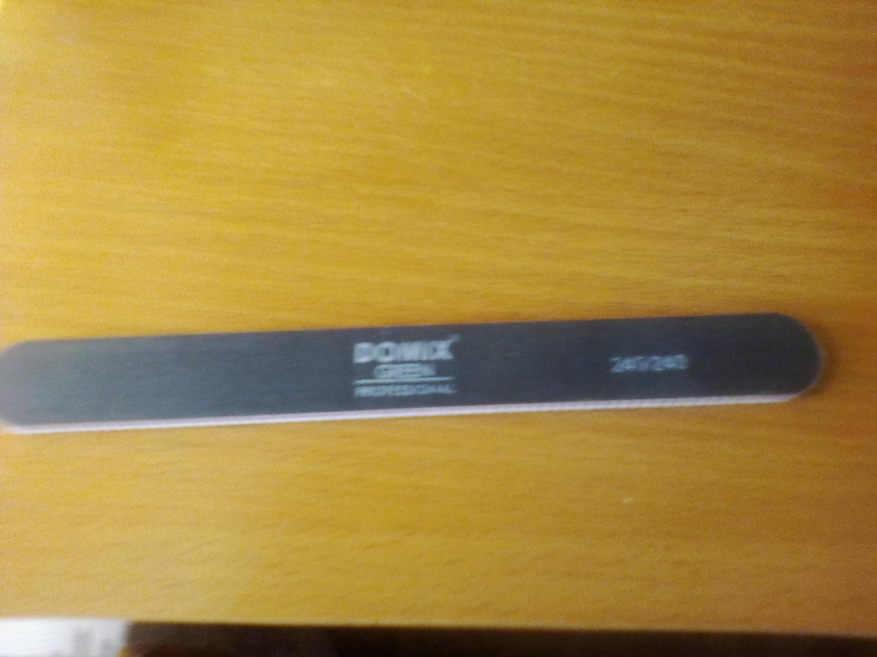 Отзыв на товар: Пилка для ногтей 240/240. Domix Green Professional. Вид 1 от 1608820961