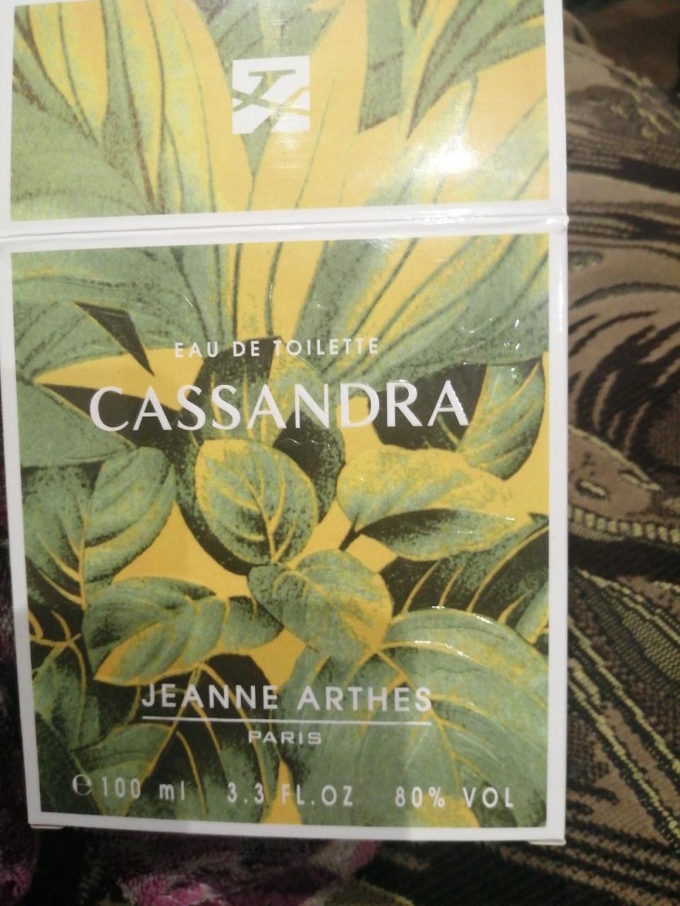 Отзыв на товар: Туалетная вода Parfums Cassandra. Jeanne Arthes. Вид 1 от 1612878712