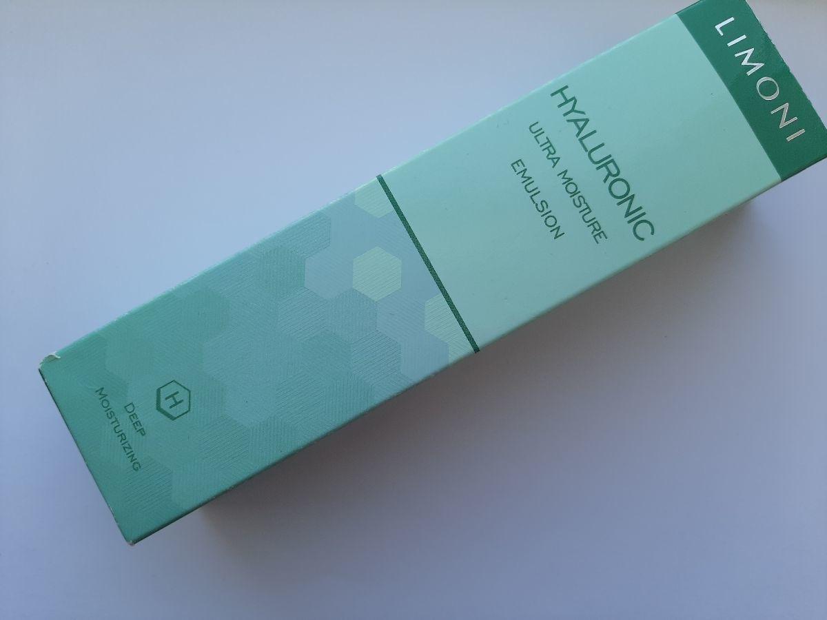 Отзыв на товар: Ультраувлажняющая эмульсия для лица с гиалуроновой кислотой. Limoni. Вид 1 от 1616398861