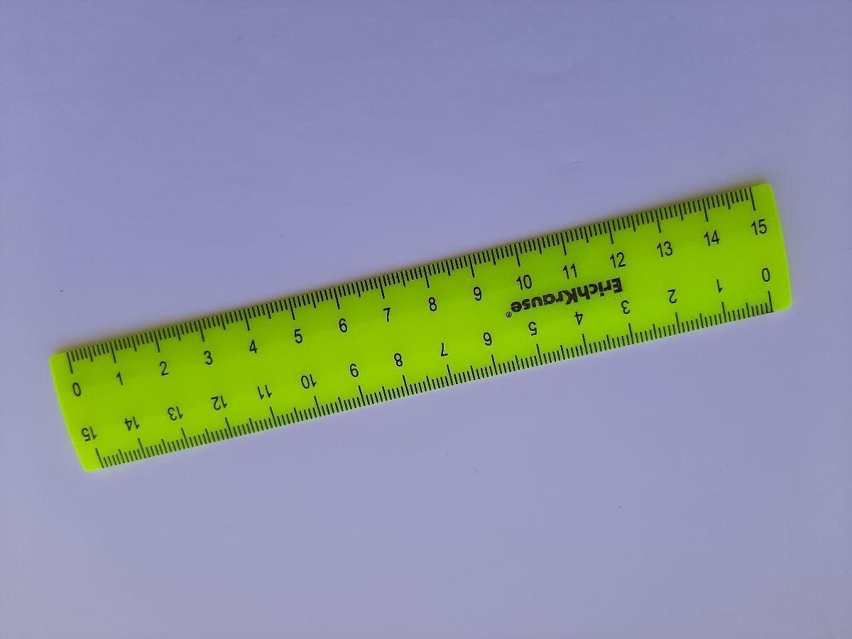 """Отзыв на товар: Линейка 15 см Erichkrause """"Neon Solid"""", жёлтая, в флоупаке. Erich krause. Вид 1 от 1616469364"""