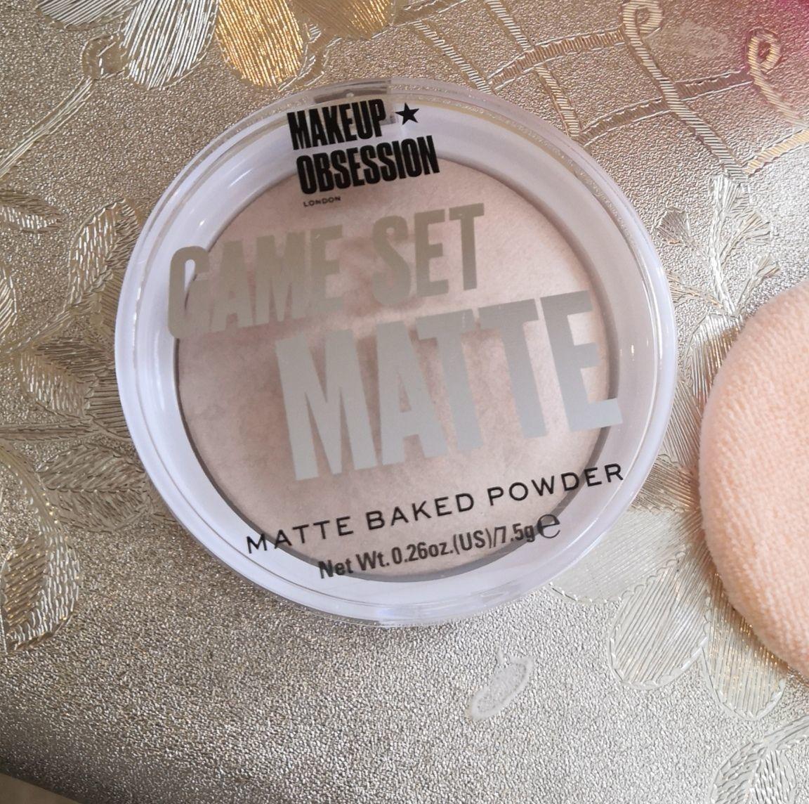 Отзыв на товар: Пудра для лица матирующая Game Set Matte. Makeup Obsession. Вид 1 от 1617498866