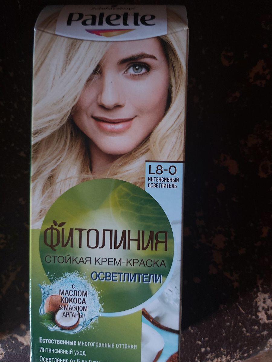 """Отзыв на товар: Краска для волос """"Фитолиния"""". Palette. Вид 1 от 1617967794"""
