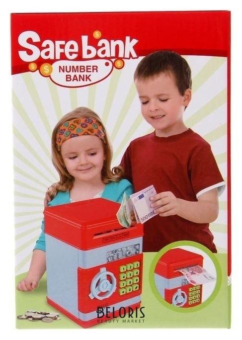 сейф игрушечный со звуковыми эффектами